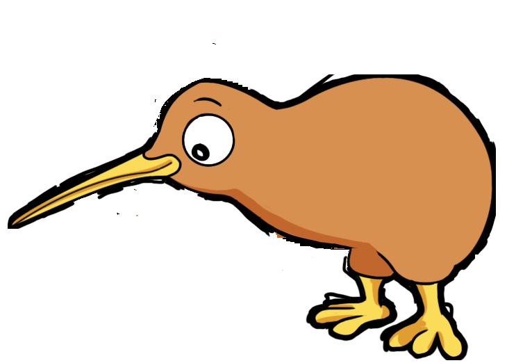 New Zealand clipart Art Kiwi flightless The this