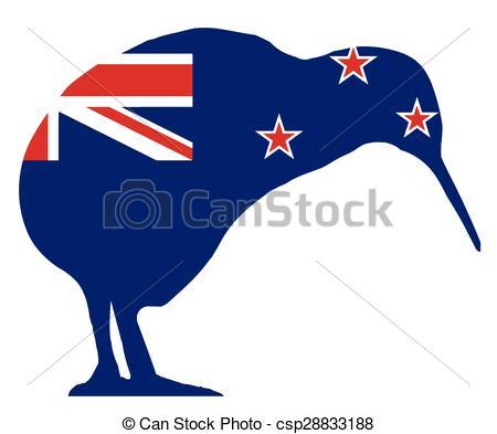 New Zealand clipart Kiwi Clipart #1