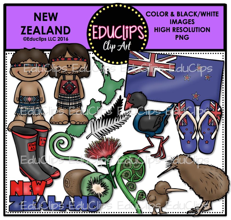 New Zealand clipart Kiwi Clipart #7