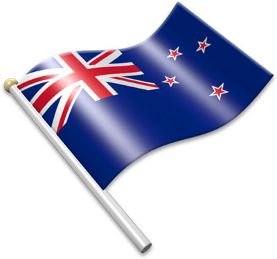 New Zealand clipart New Zealand Flag Waving  of of The