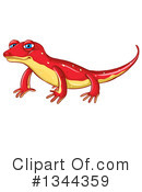 Newt clipart By #1344359 Royalty Free (RF)