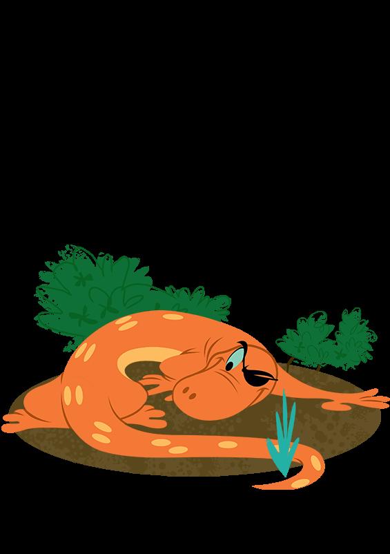 Newt clipart triton #14