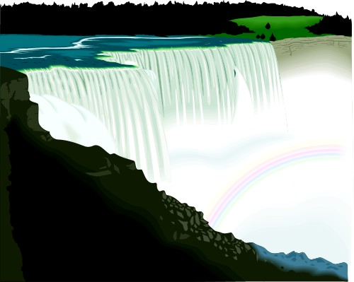 Niagara Falls clipart Canada; Travel Falls Canada Niagara