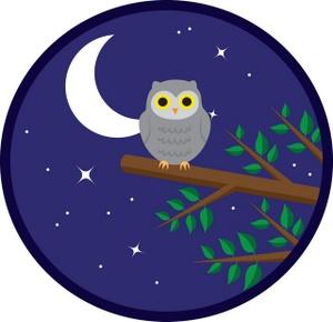 Night clipart Owl Night Clipart Night Image: