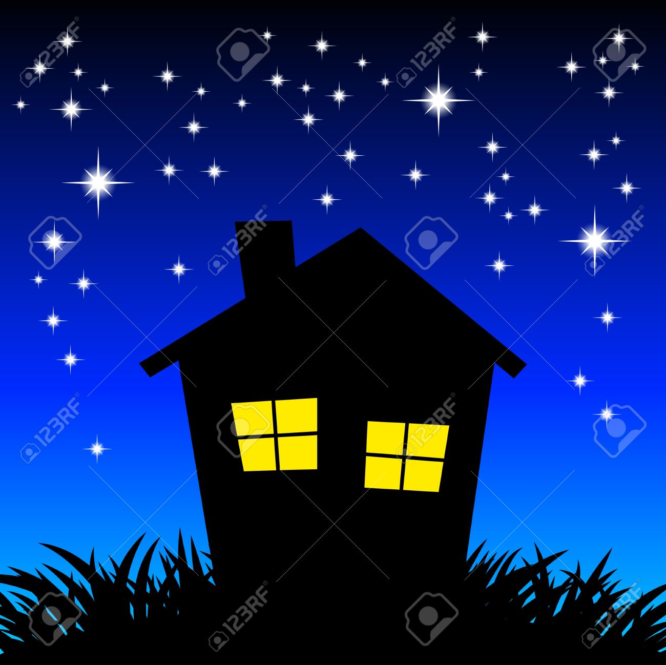 Night clipart  at Clip Clipart Images