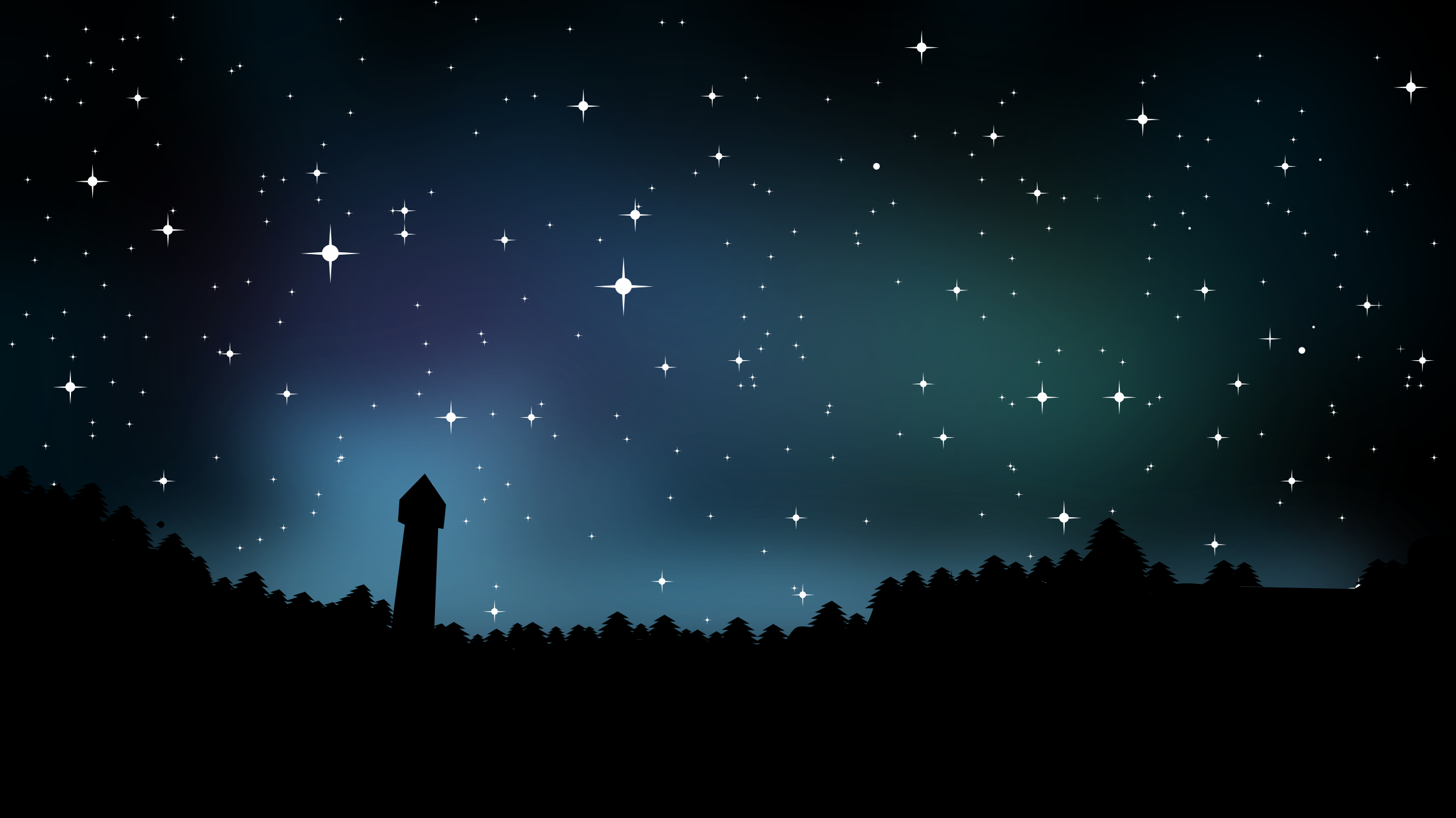 Night clipart Starry Starry Others at and