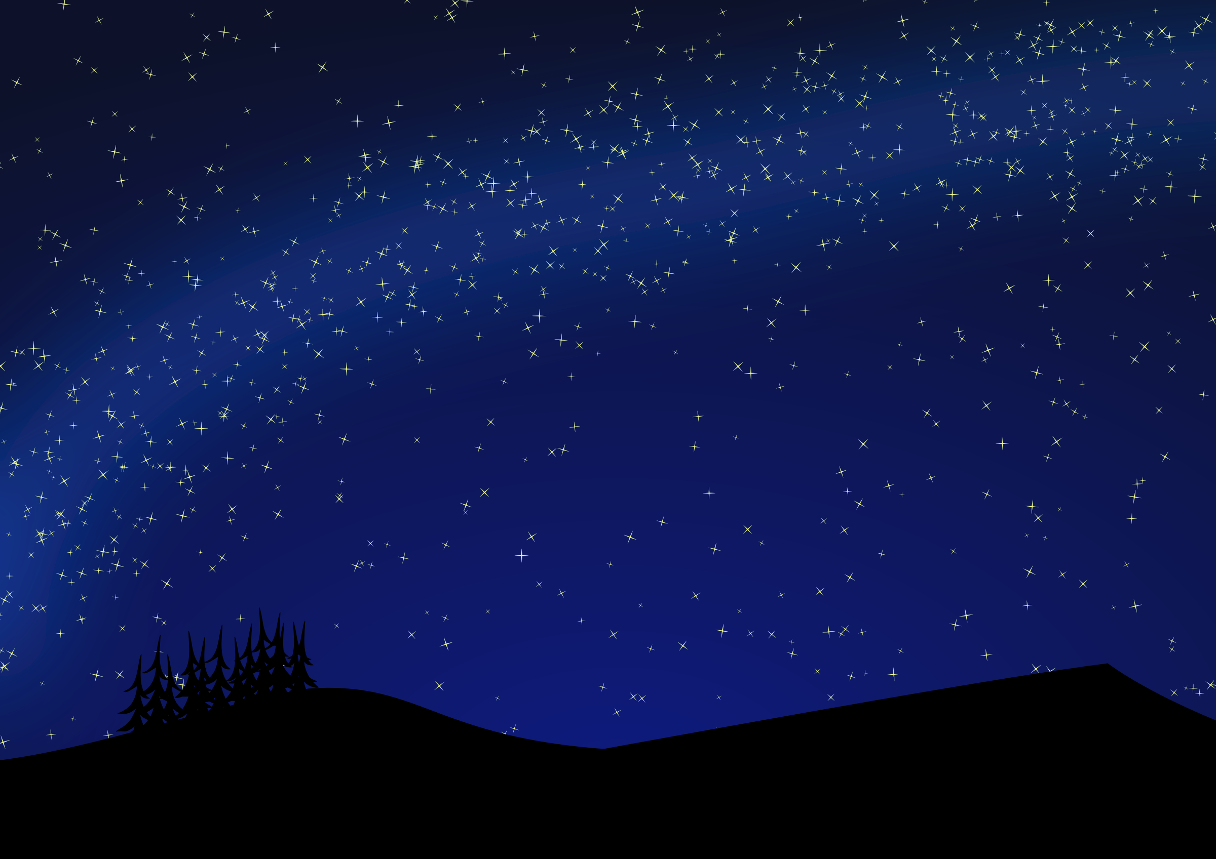 Background clipart starry night Sky Clipart Night Blue Night
