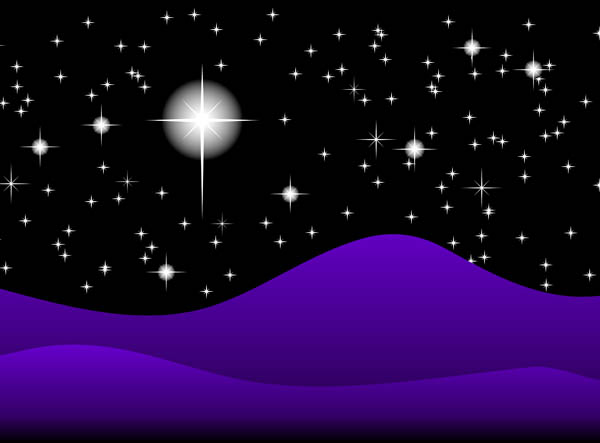 Starry Sky clipart Vector Free Night and Free
