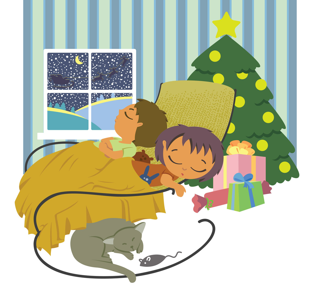 Night clipart asleep Sleep Children Well Silent