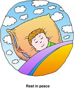 Resting clipart night sleep #1