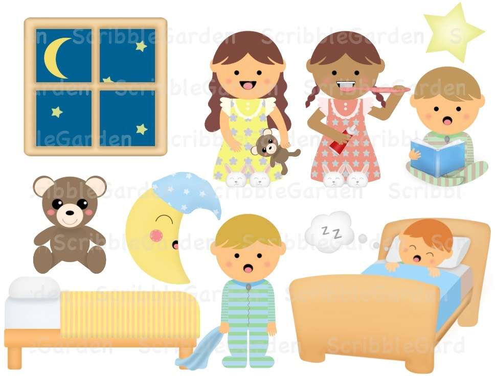 Night clipart bedtime #11