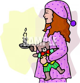 Night clipart bedtime #9