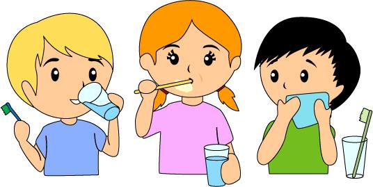 Toothbrush clipart kid chore #4