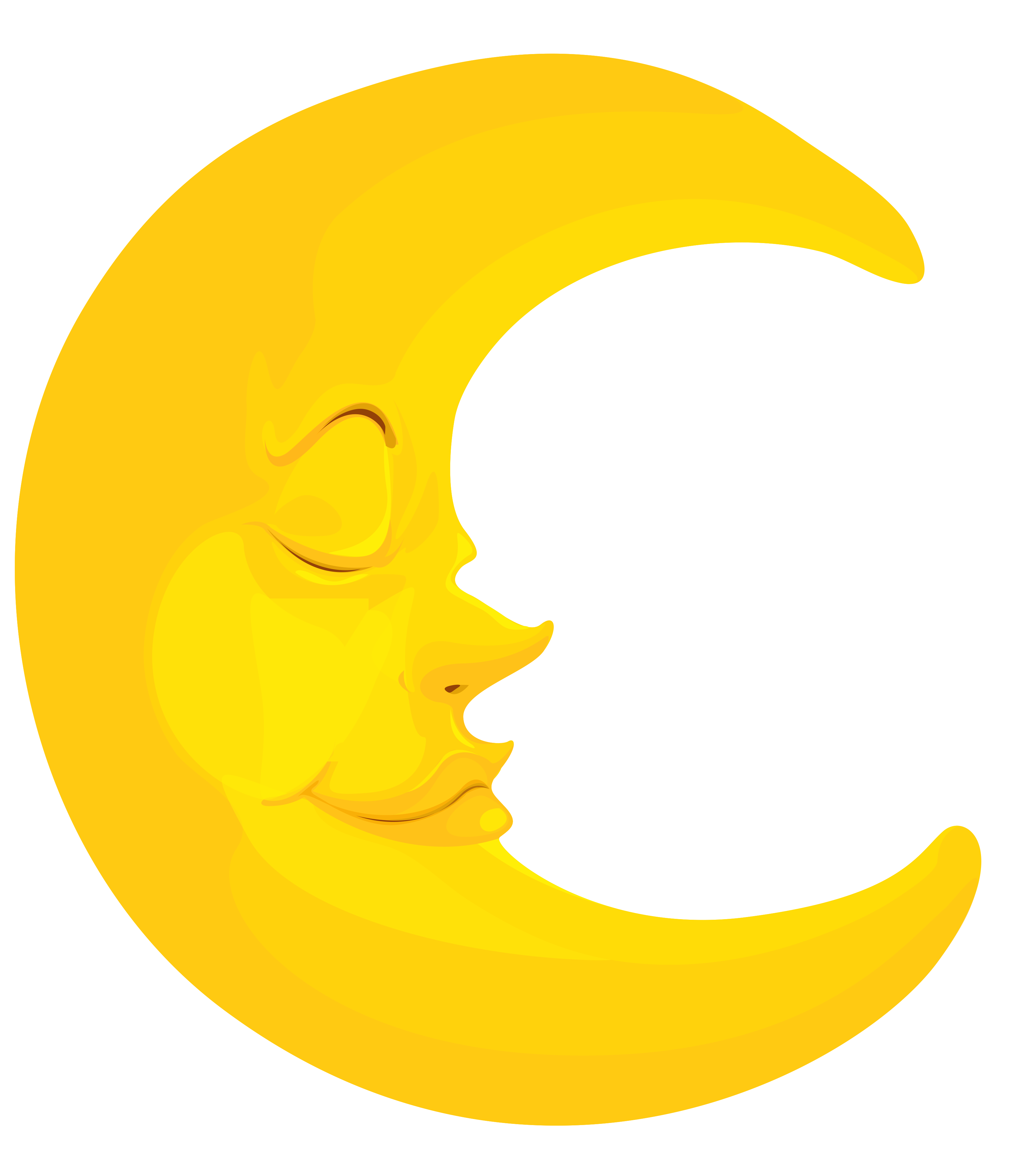 Night clipart cresent moon Free download Moon images PNG