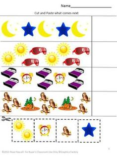 Display clipart daytime activity A night Special mix and
