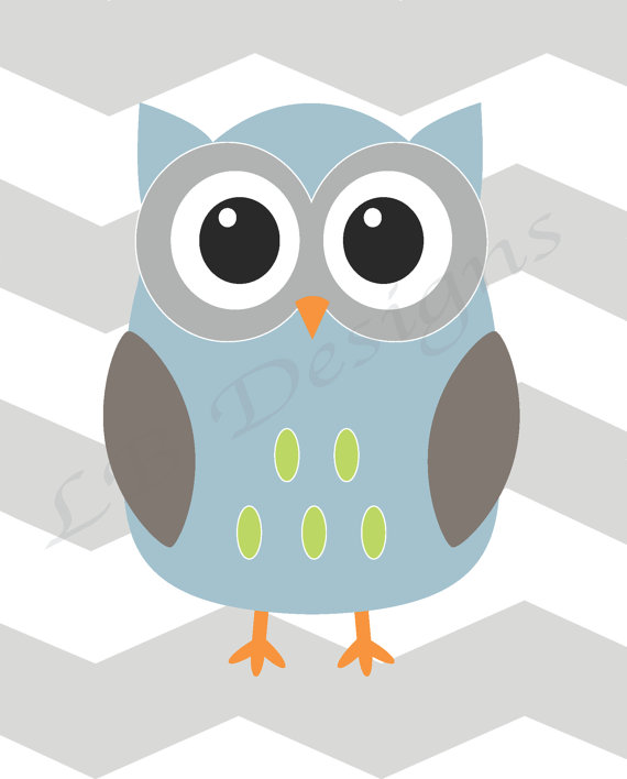 Night clipart gray owl Background by Gray by Background