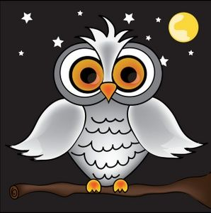 Night clipart gray owl Night Pinterest in Image Clipart