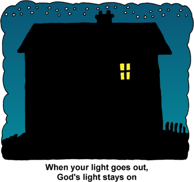 Night clipart house #2