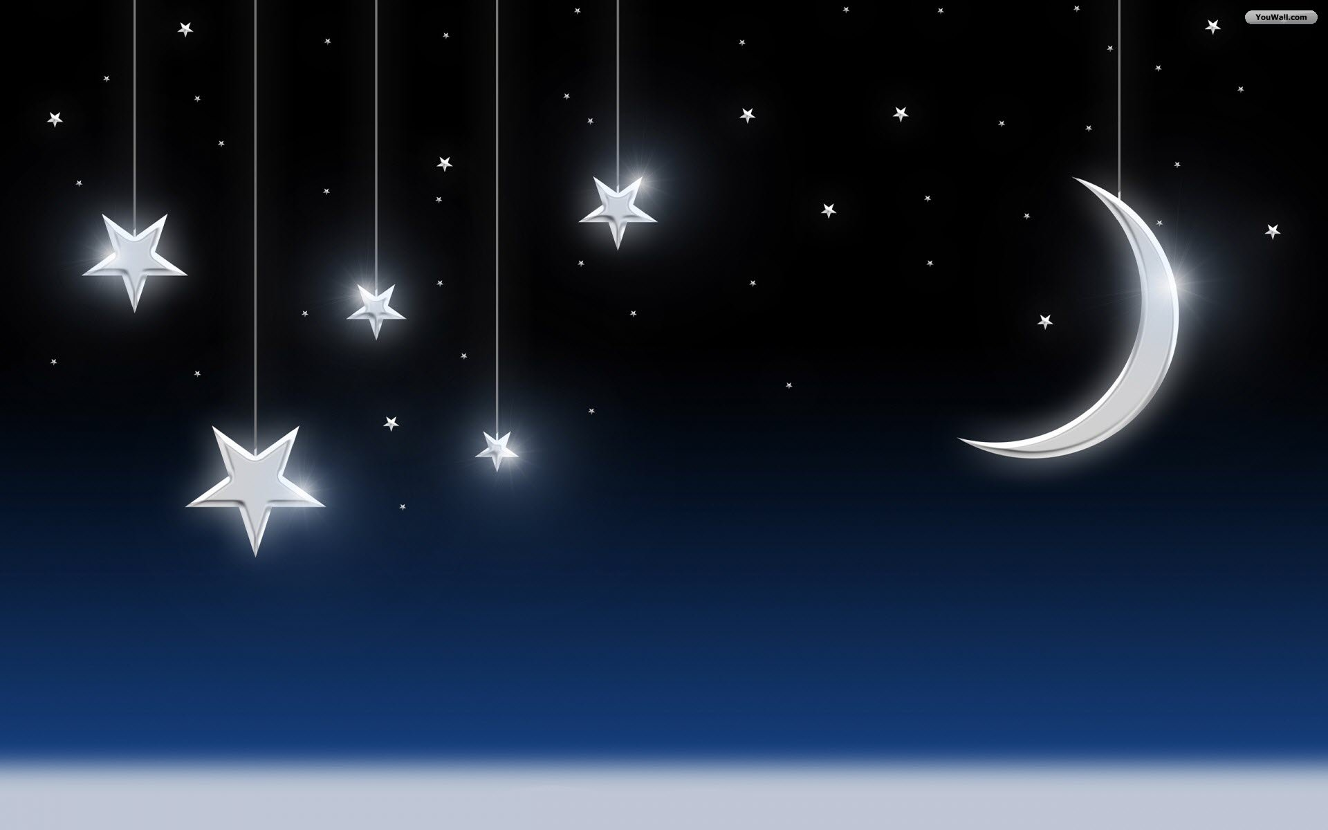 Night clipart moon star Clip AND galaxy MOON on