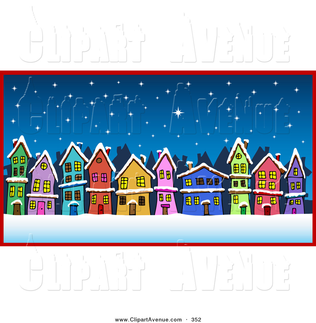 Winter clipart neighborhood Free Designs  Neighborhood Avenue