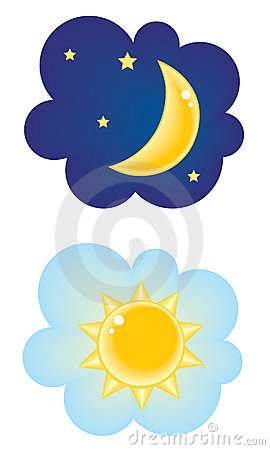 Changing To Night  clipart day night Free Clipart Nighttime Clipart nighttime%20clipart