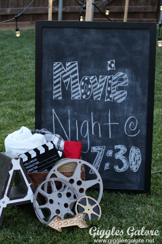 Changing To Night  clipart outdoor movie screen Party Celebrate under Cinema Pinterest