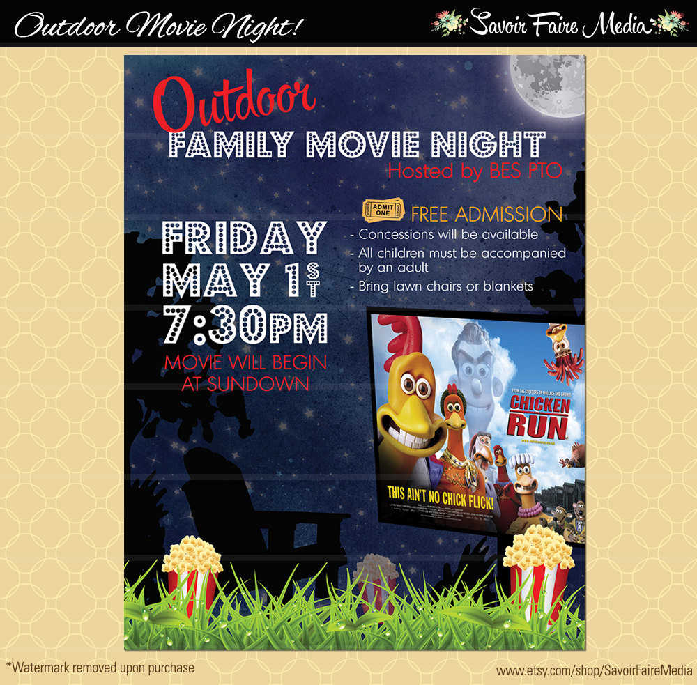 Changing To Night  clipart outdoor movie screen This short / the a