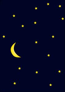Night Sky clipart animated Art com Clker  clip