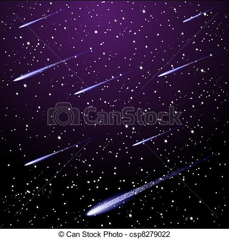 Night Sky clipart night drawing Of sky  Vector starry