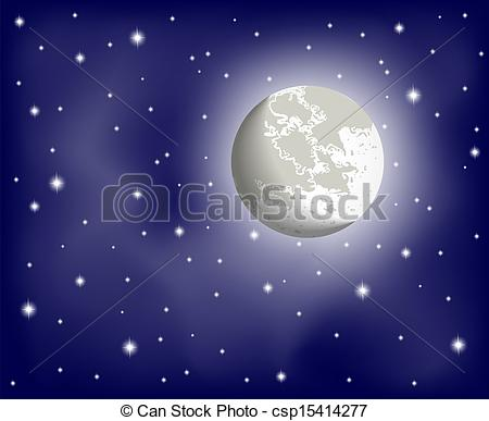 Night Sky clipart night drawing Sky Illustration in night clear