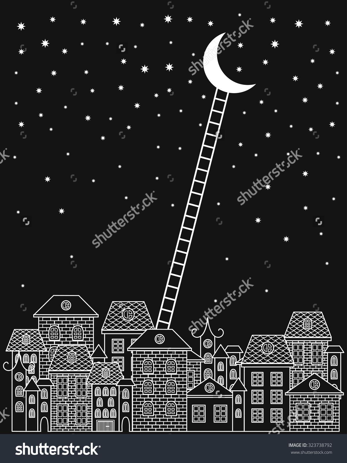 Night Sky clipart night skyline And sky night Sky Cliparts