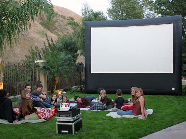 Changing To Night  clipart outdoor movie screen Find Outdoor Ideas best more