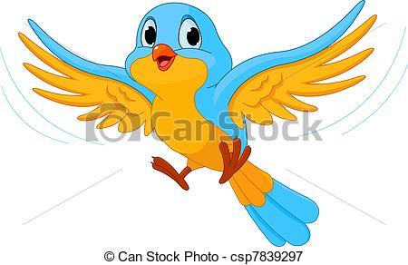 165 and Bird Illustration Clipart