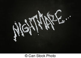 Nightmare clipart Clipart Clipartby with 6 Lettering