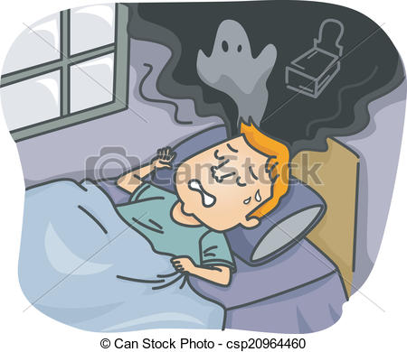 Nightmare clipart Nightmare; nightmare Clipart of cartoon