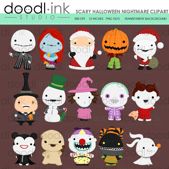 Scary clipart nightmare #4