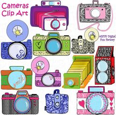 Camera clipart pastel Retro Georgia Cute Cherokee