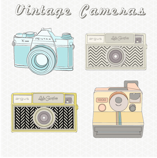 Photography clipart vintage camera Download Vintage Old Camera