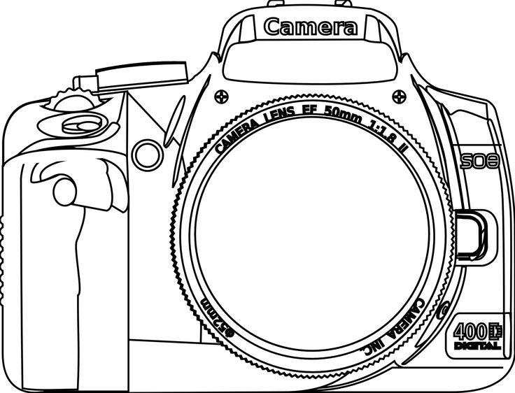Nikon clipart slr camera Clip Kamera Free Cliparts on