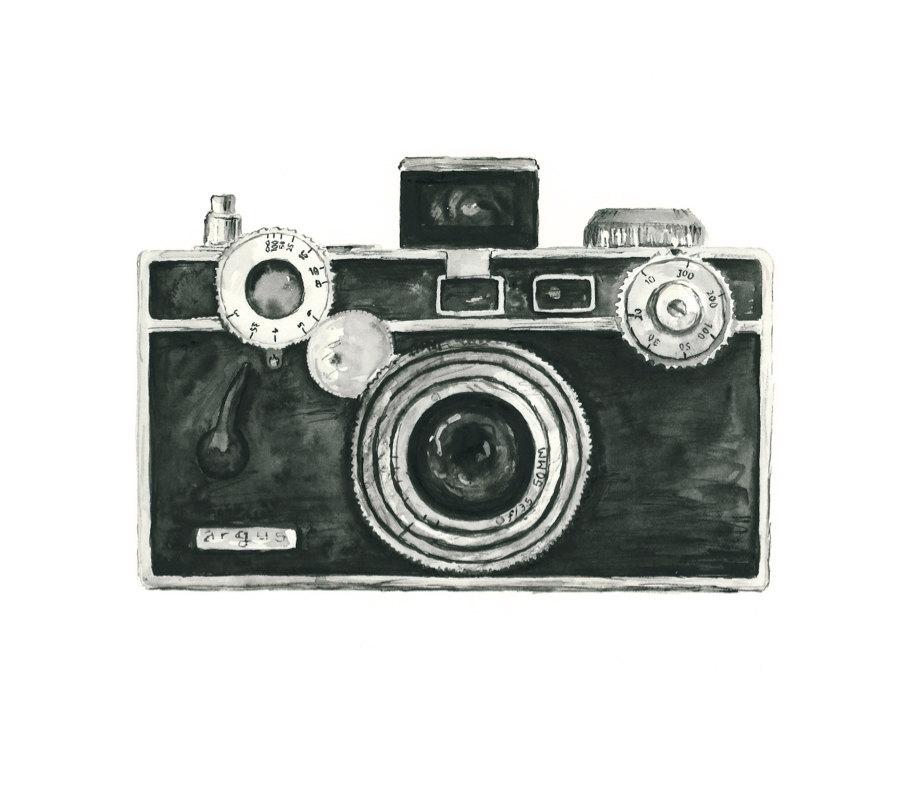 Photography clipart vintage  print decor giclee print