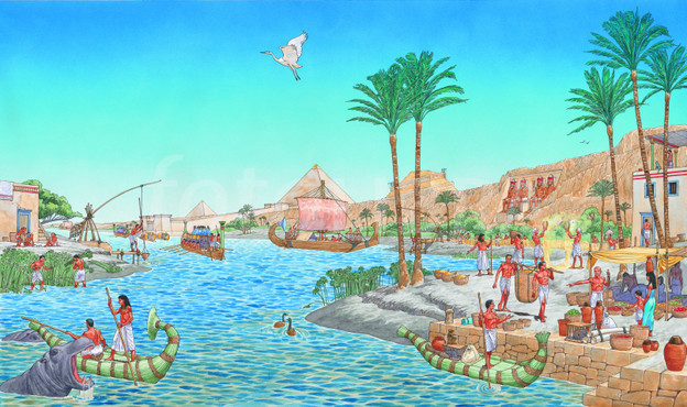 Nile River clipart Gallery Valley River ancient South