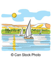 Nile River clipart And  806 Stock Illustrations