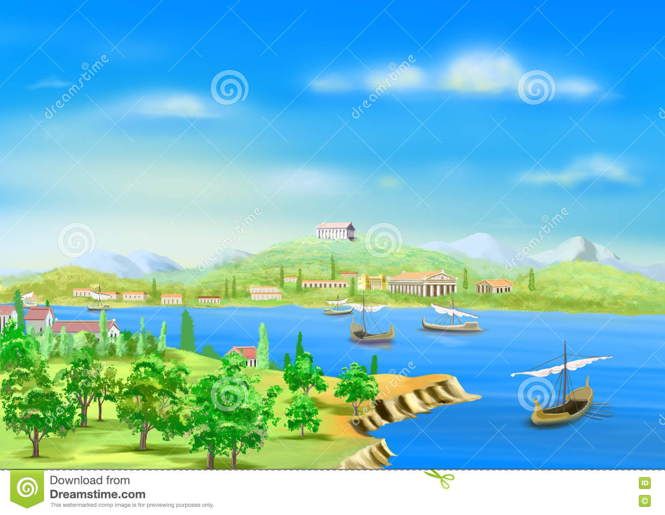 Nile River clipart ancient egypt Ancient Nile Banks The collections