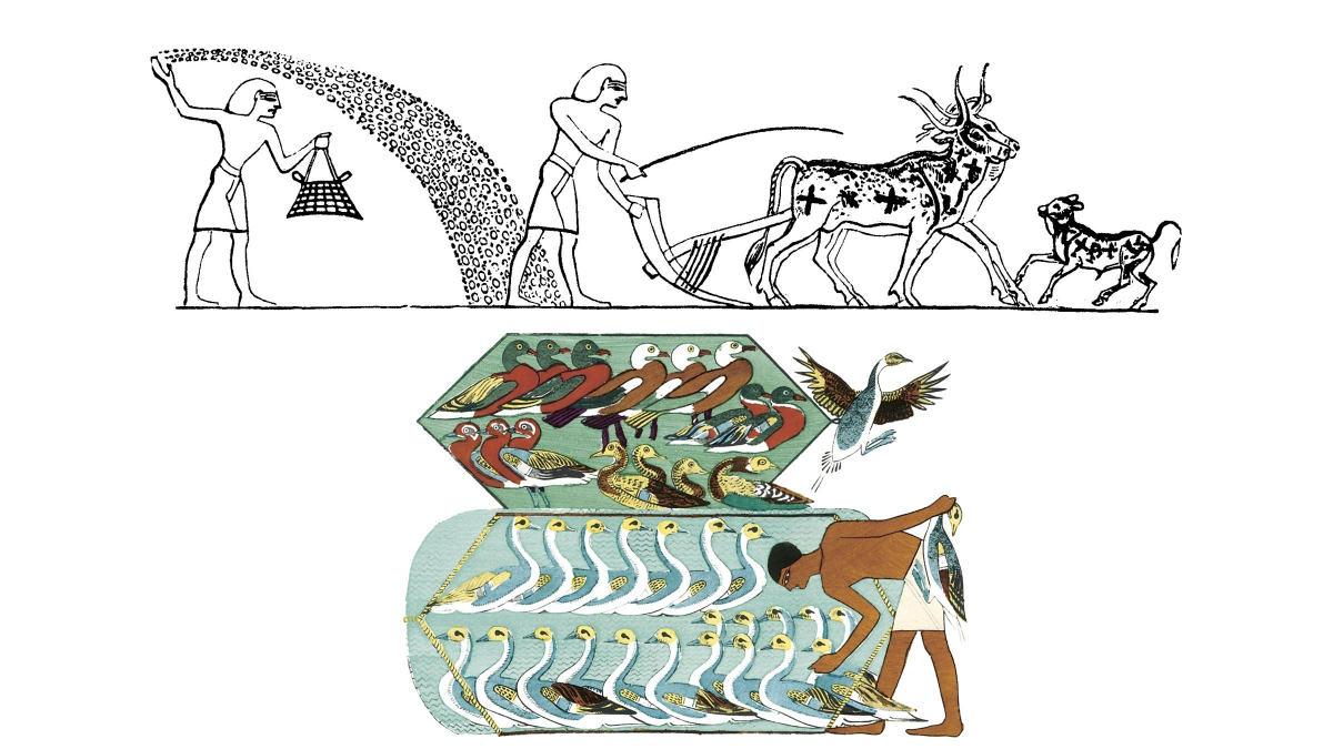 Nile River clipart ancient time And but significance of daily