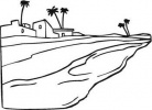 Nile River clipart black and white Nile scene nile
