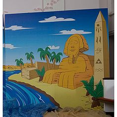 Nile River clipart egypt sphinx Background This obelisk colored looking