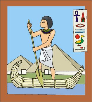 Nile River clipart egyptian art Nile Egyptian Hapi River) (the