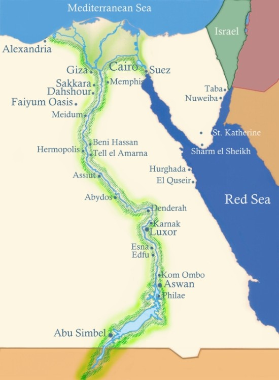 Drawn river nile river Nile Map Egypt River