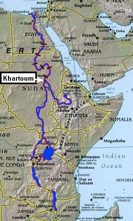 Nile River clipart geographical On Africa the God's Geography