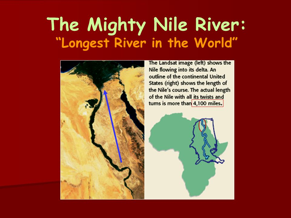 Nile River clipart geographical Ppt The The Mighty of